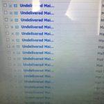 パソコンのメールがおかしいなと思ったらウイルスだった。