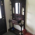 英国アンティーク家具 ホールスタンドが我が家に来ました